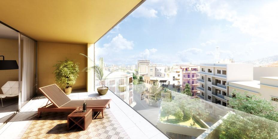 AYA - Ashrafieh - har properties - balcony view